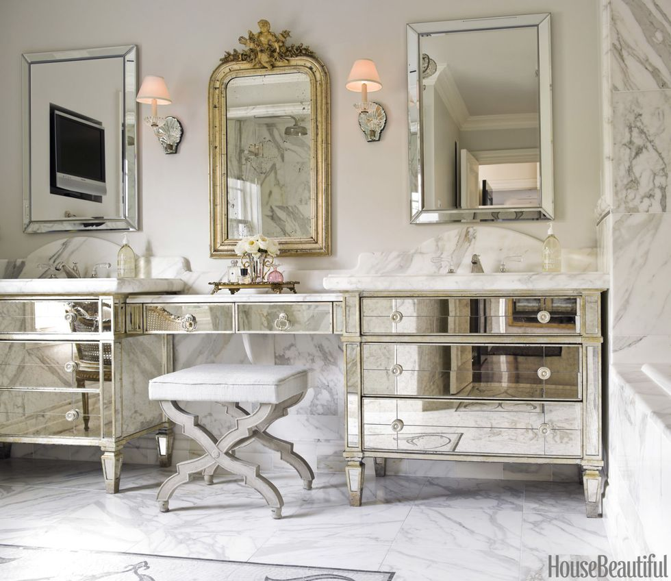 6 Ultra Glam Bathrooms